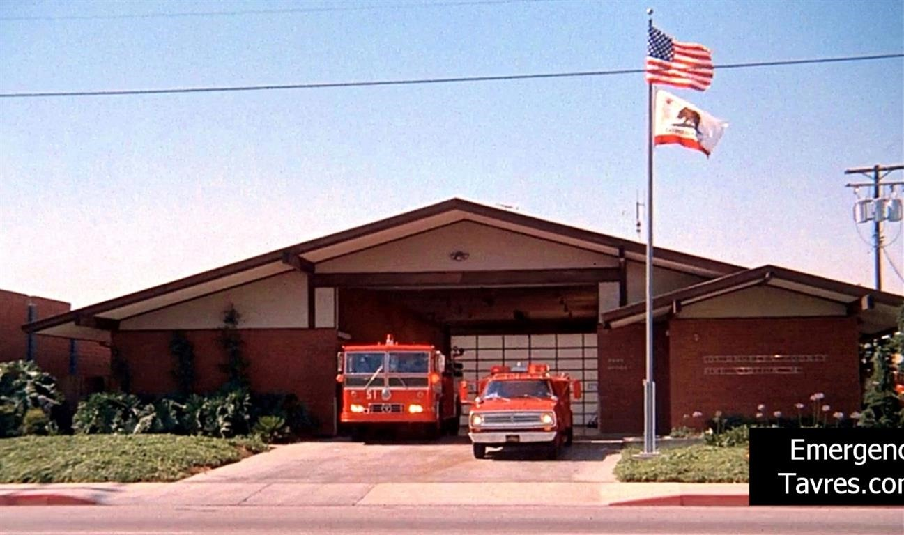Emergency! - Station 51, 1972 | MovieTVLocations.Tavres.com