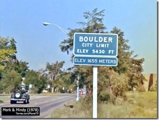 Boulder City Limit - Tavres.com/MovieTV