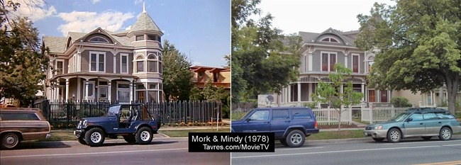 Mork & Mindy's house - Tavres.com/MovieTV