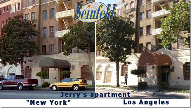 Seinfeld - Jerry's apartment - Tavres.com/MovieTV