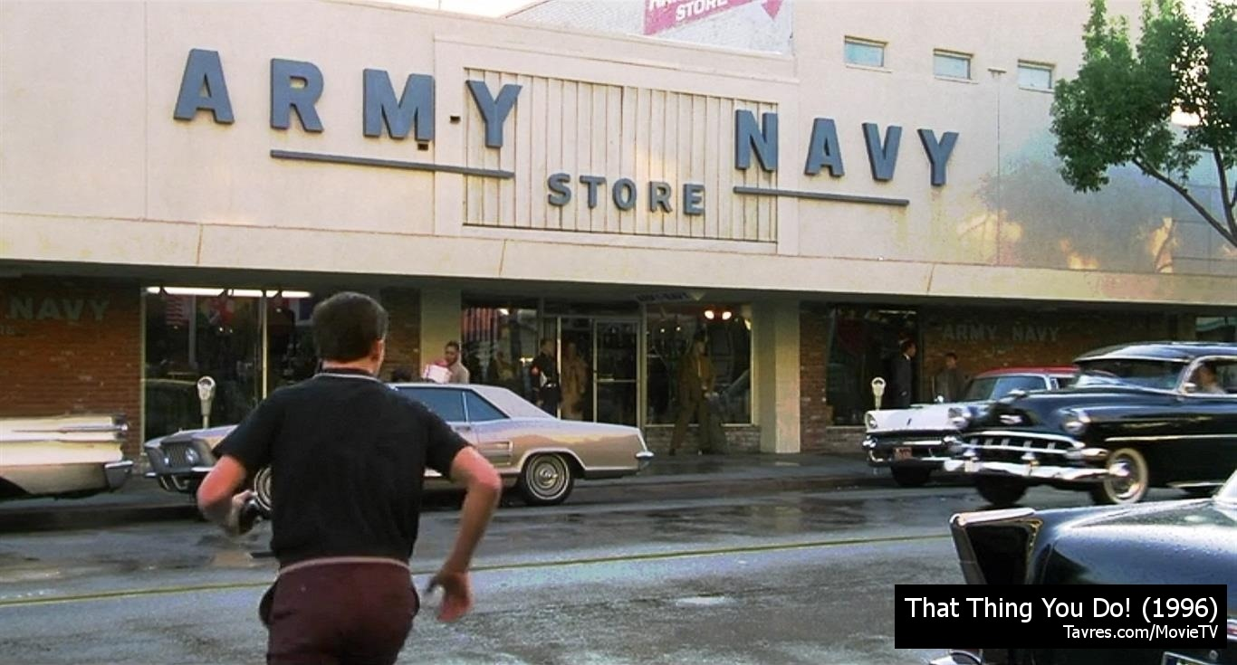 That Thing You Do! - Army - Navy Store | MovieTVLocations.Tavres.com