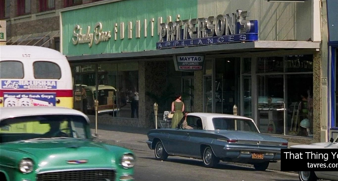 That Thing You Do! - Patterson's Appliances | MovieTVLocations.Tavres.com