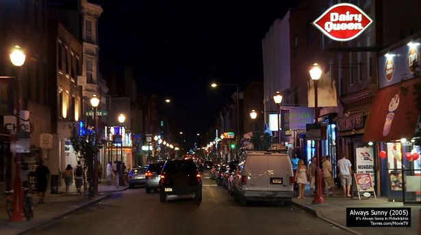 It's Always Sunny in Philadelphia - Intro (2005) - MovieTVLocations.Tavres.com