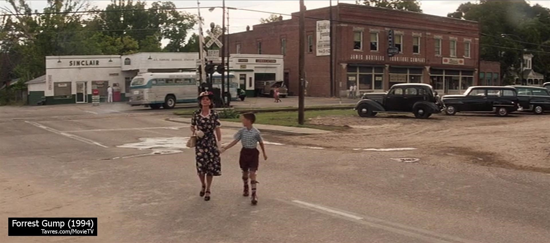 Forrest Gump (1994) - Main Street Greenbow 1955   Movie & TV Locations