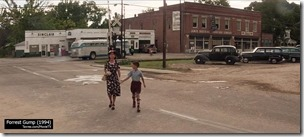 Forrest Gump (1994) - Main Street Greenbow 1955 | MovieTVLocations.Tavres.com